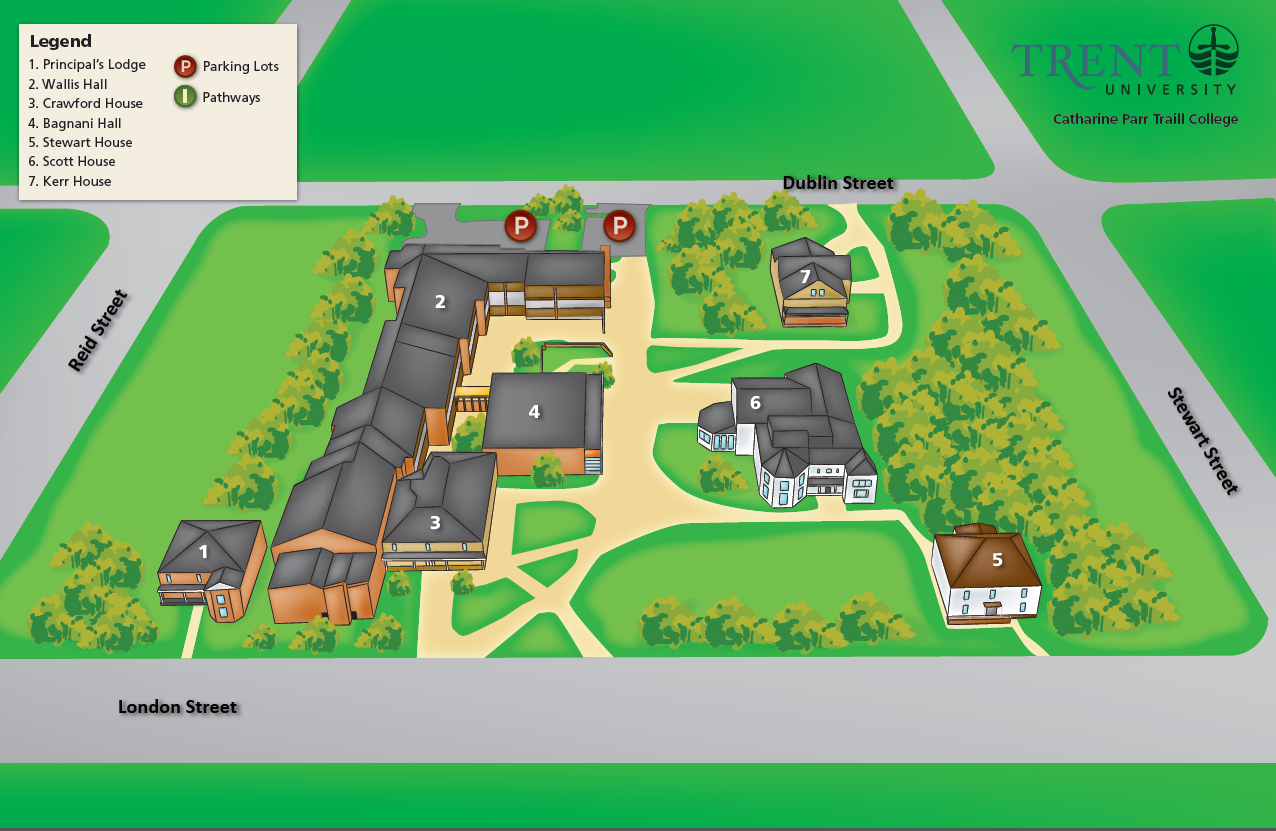 Campus Community Maps Mytrent Community