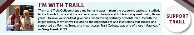 Traill College Quote