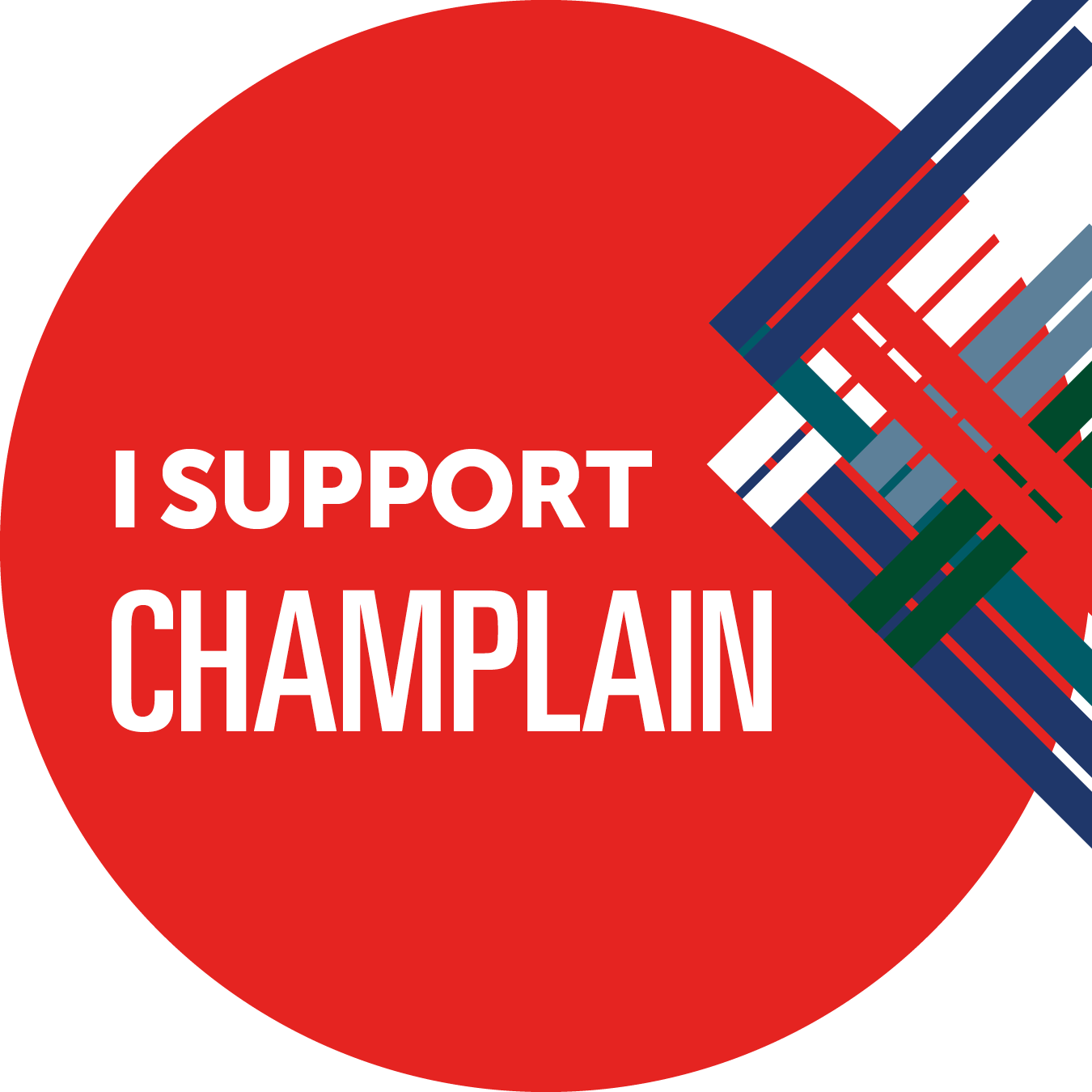 I support Champlain