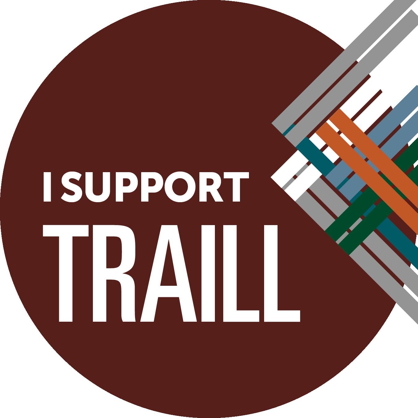 I support Traill College button