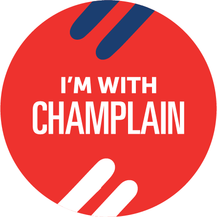 I'm with Champlain College