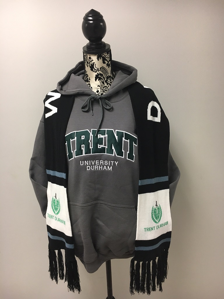 Trent Durham hoodie and scarf for sale at Trent Durham
