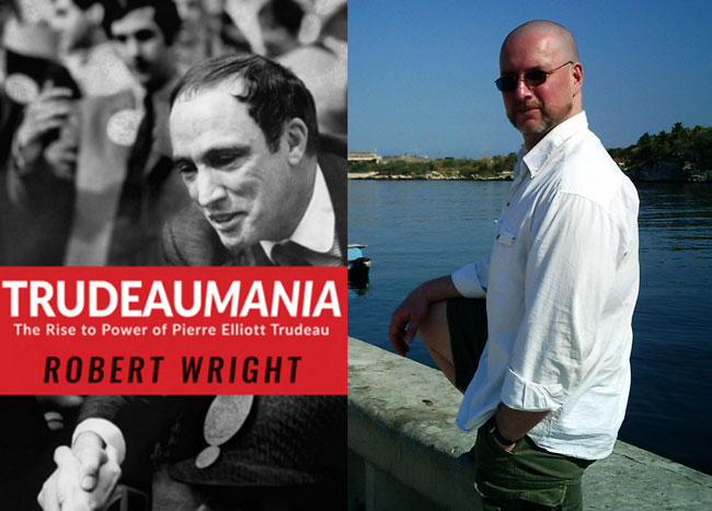 dr robert wright sets record on Trudeaumania