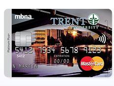 image of Trent University mbna mastercard