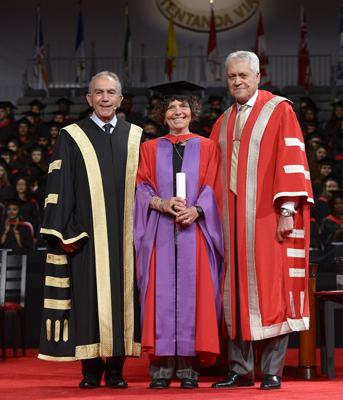 Deb Field York University Convocation