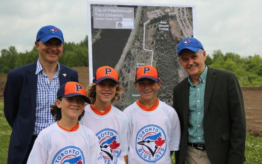 Announcement of Blue Jays Diamond