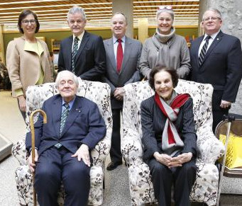 trent university renews relationship with bata family