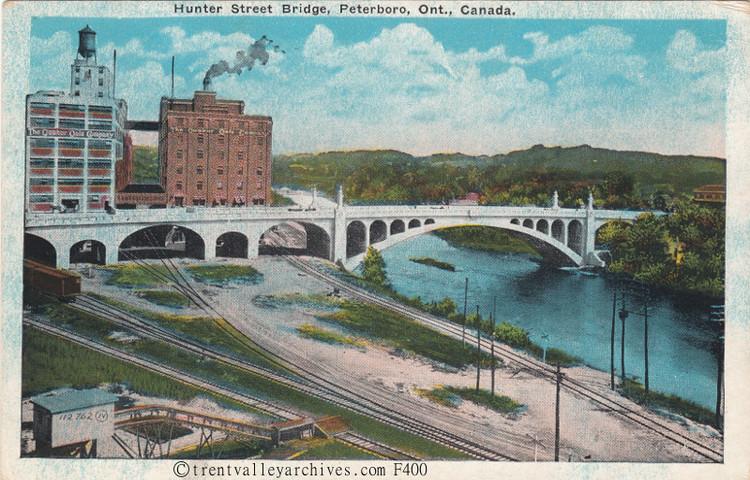 story of hunter street bridge peterborough