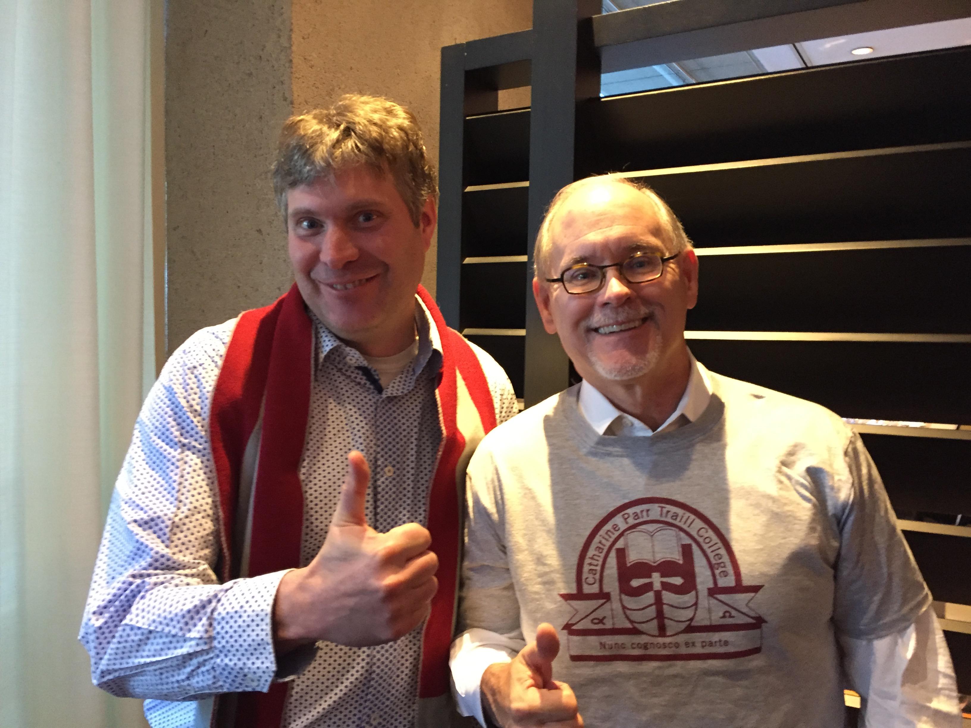 Michael Eamon and Greg