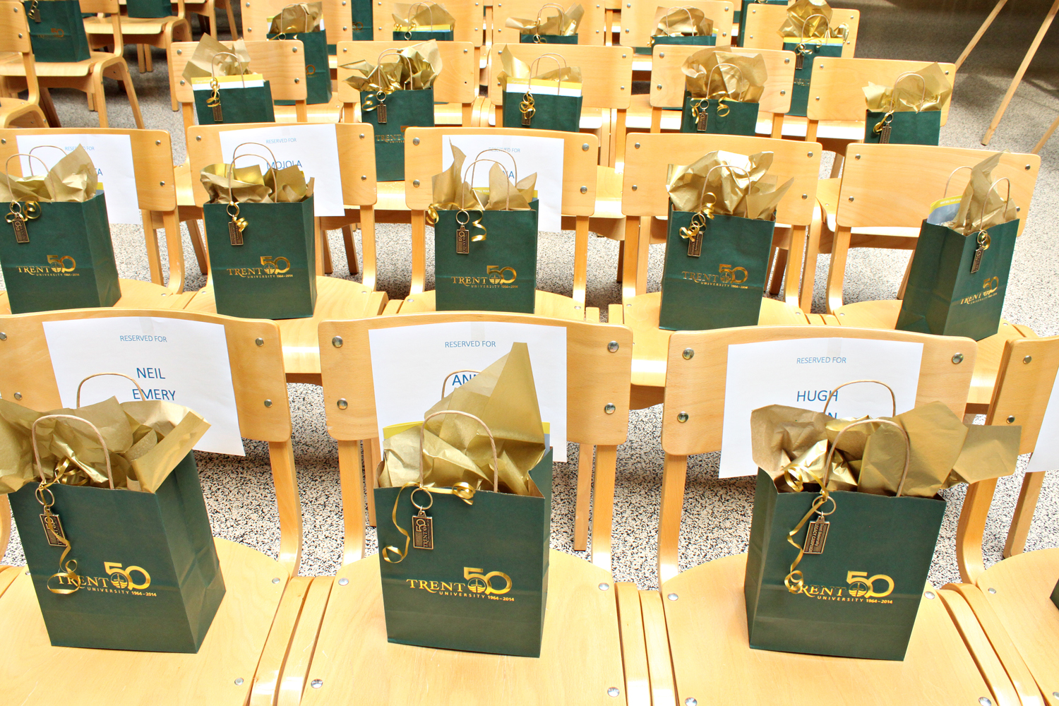 50th Anniversary Gift bags
