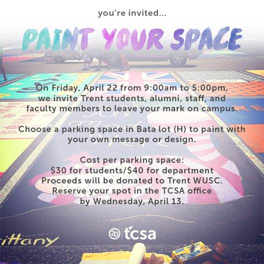 Paint Your Space Promotional Poster